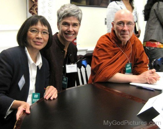 Bhikkhu Bodhi With BGR Director Kim Behan