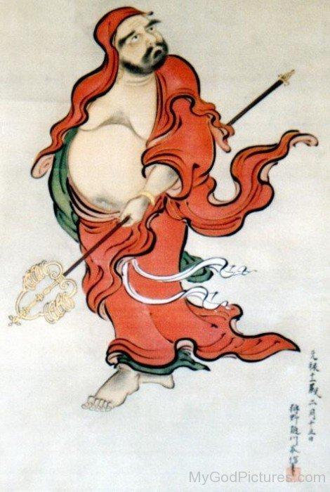 Bodhidharma Painting