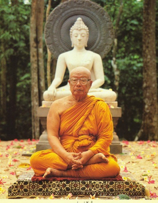 Buddhadasa Doing Meditation