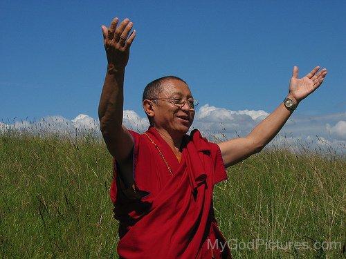 Buddhist Leader Chokyi Nyima Rinpoche