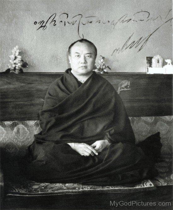Buddhist Monk Rangjung Rigpe Dorje