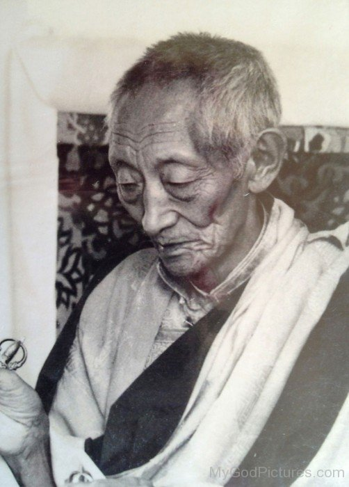 Buddist Monk Kalu Rinpoche
