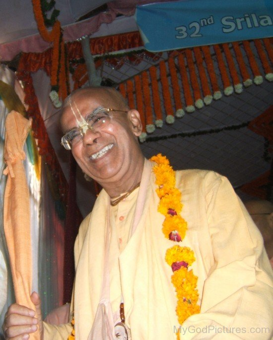 Gopala Krishna Goswami Smiling