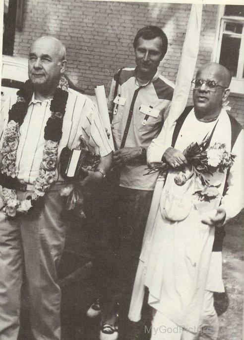 Gopala Krishna Goswami With Russian Distributors
