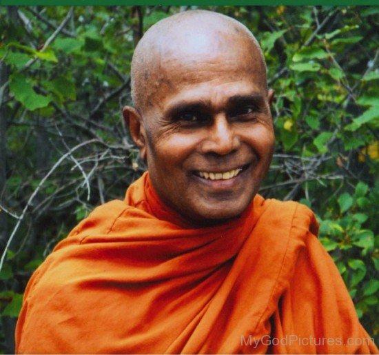 Henepola Gunaratana Smiling
