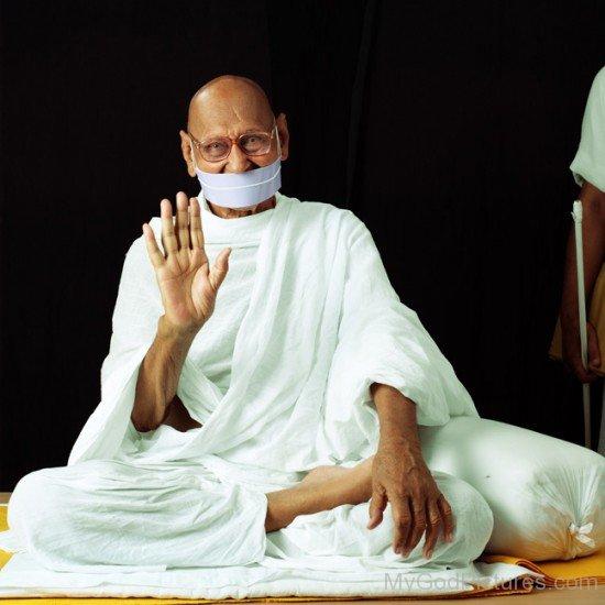 Image Of Acharya Shri Mahapragya Ji