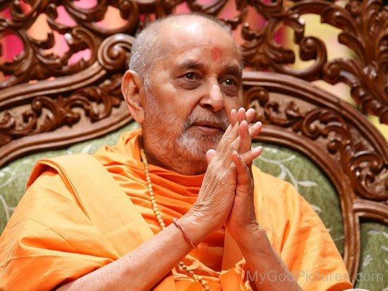Image Of Pramukh Swami Maharaj Ji