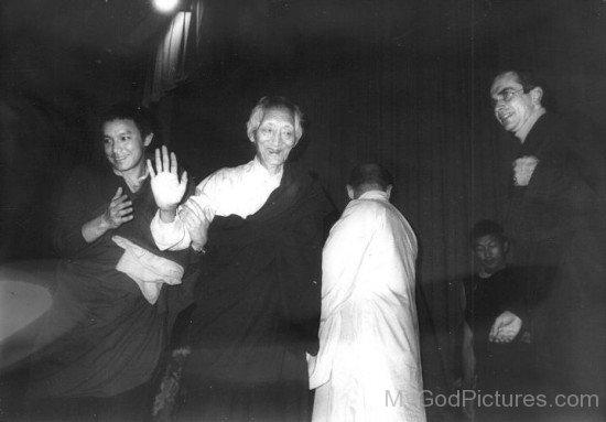 Kalu Rinpoche With Rama Denys Rinpoche