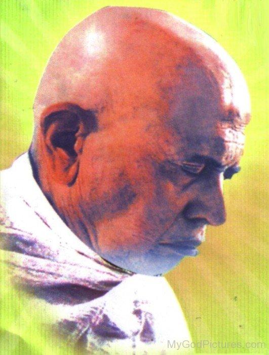 Kanji Swami Doing Meditation