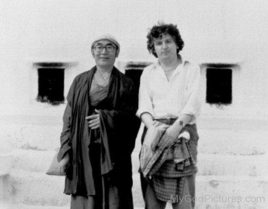 Karma Thinley Rinpoche And Lama Jampa Thaye