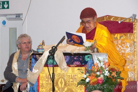 Karma Thinley Rinpoche Reading Book