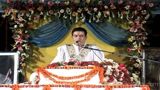 Kirit Bhaiji At Satsang