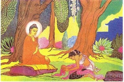 Kisa Gotami And Lord Buddha