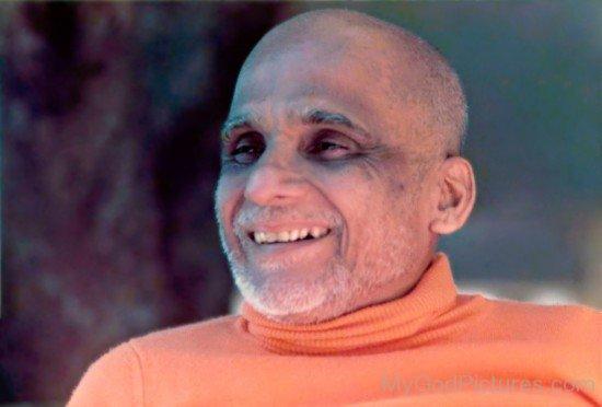 Krishnananda Saraswati Smiling