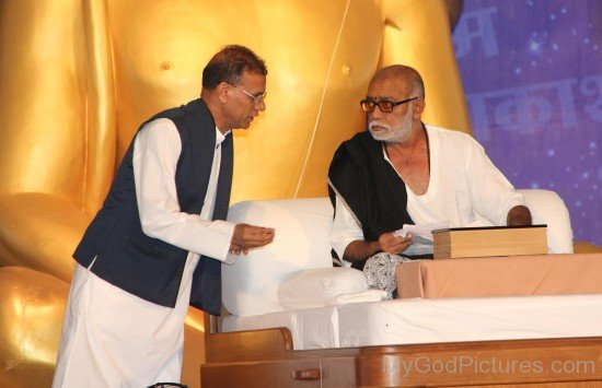 Morari Bapu Ji And Madan Paliwal