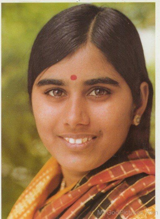 Mother Meera Smiling