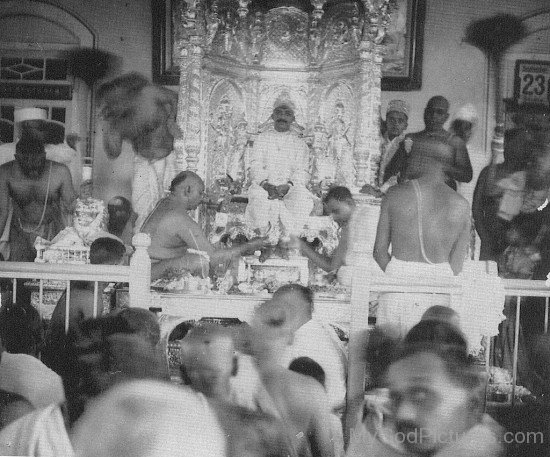 Narayan Maharaj At His Ashram