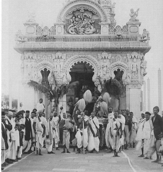 Narayan Maharaj With His Devotees
