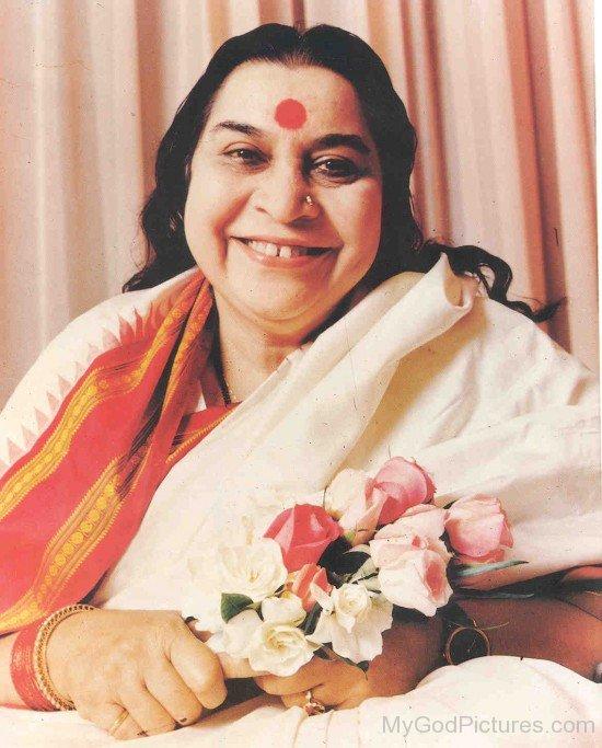 Nirmala Srivastava Ji Smiling