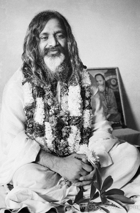 Photo Of Maharishi Mahesh Yogi Ji