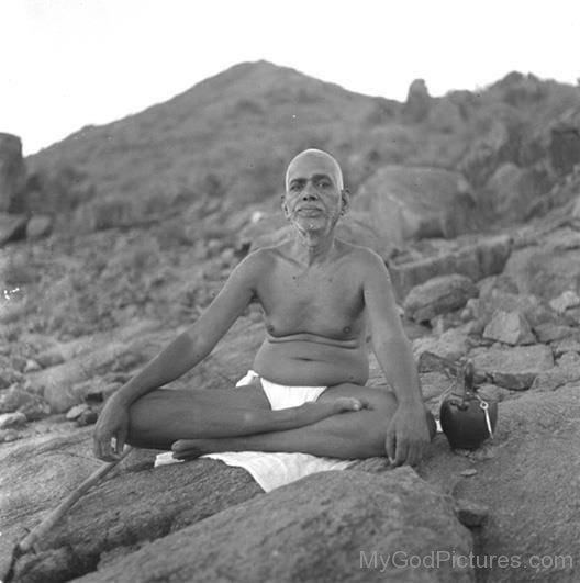 Photo Of Ramana Maharshi Ji
