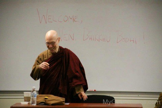 Picture Of Bhikkhu Bodhi