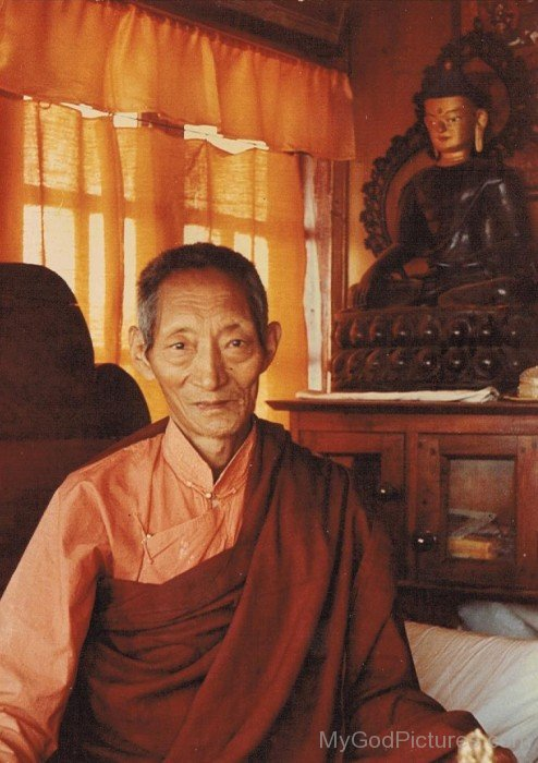 Picture Of Kalu Rinpoche