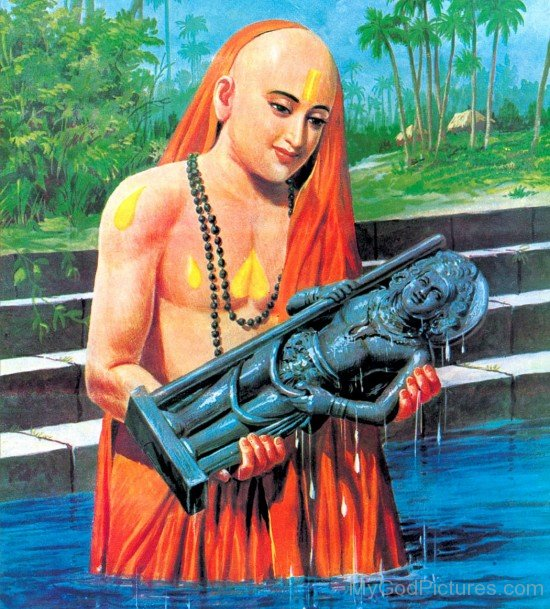 Picture Of Madhvacharya