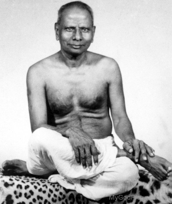 Picture Of Nisargadatta Maharaj
