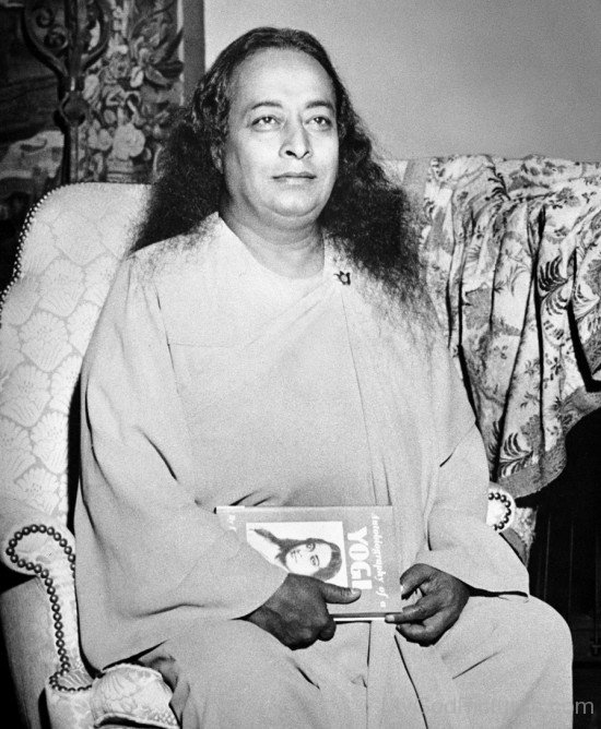 Picture Of Paramahansa Yogananda