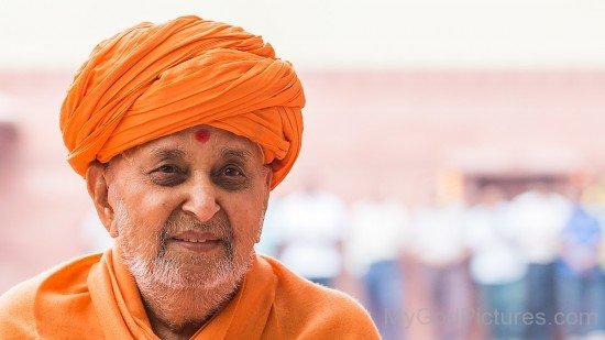 Picture Of Pramukh Swami Maharaj