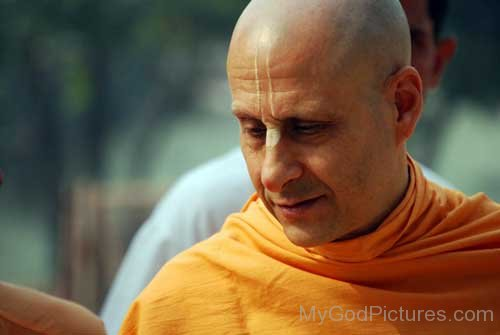 Picture Of Radhanath Swami Ji