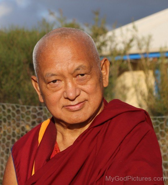 Picture Of Thubten Zopa Rinpoche