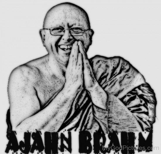 Portrait Of Ajahn Brahm