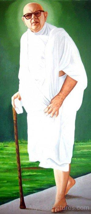 Portrait Of Kanji Swami