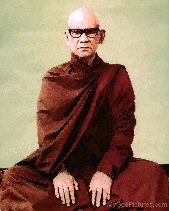 Portrait Of Mahasi Sayadaw