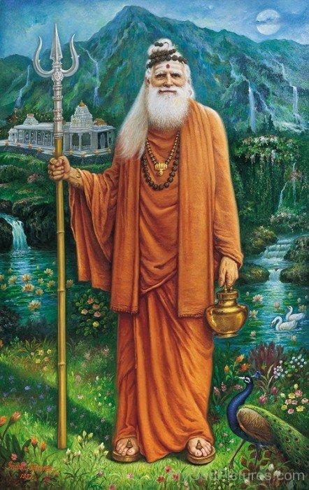 Portrait Of Sivaya Subramuniyaswami