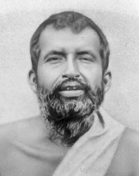 Portrait Of Swami Ramakrishna