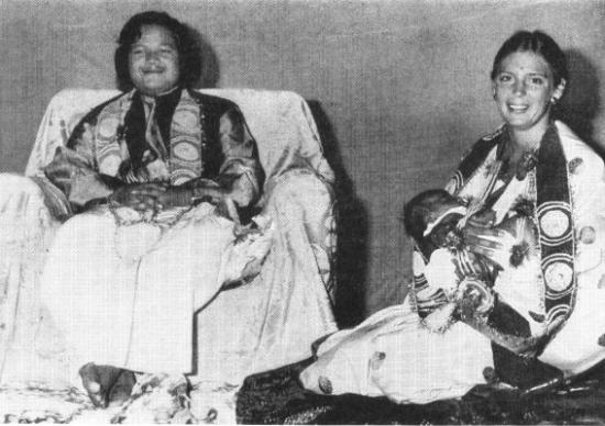 Prem Rawat With His Wife Marloyne Johnson
