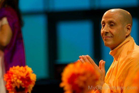Radhanath Swami Ji Image