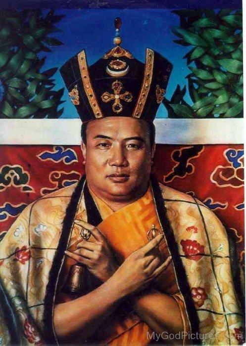 Rangjung Rigpe Dorje Portrait
