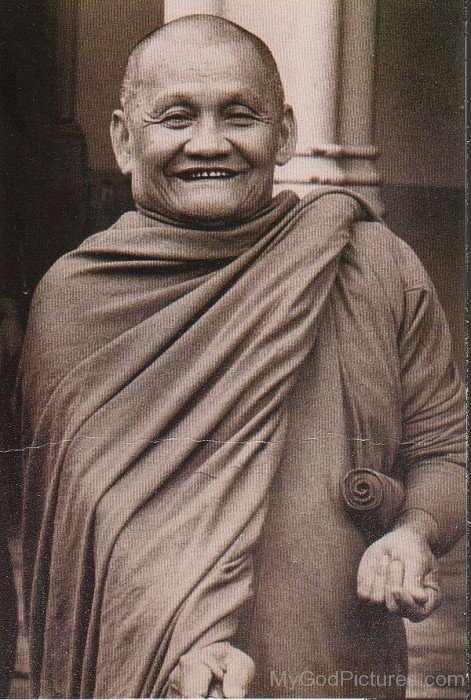Rare Picture Of Ajahn Chah