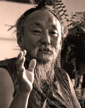 Rare Picture Of Chagdud Tulku Rinpoche