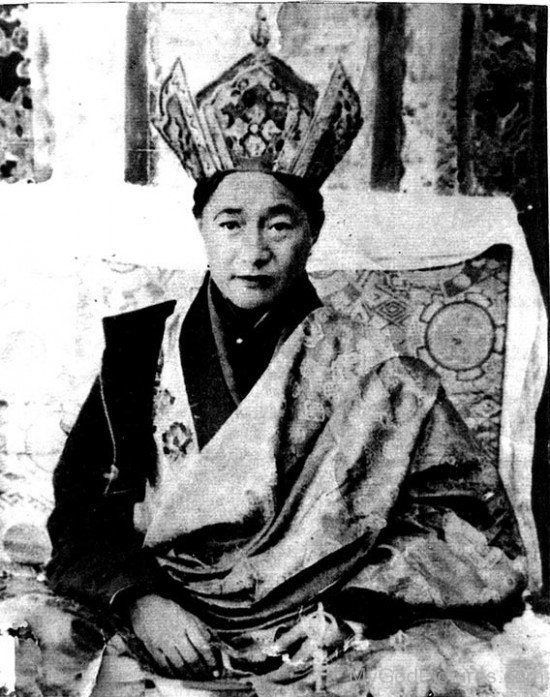 Rare Picture Of Dudjom Jigdral Yeshe Dorje