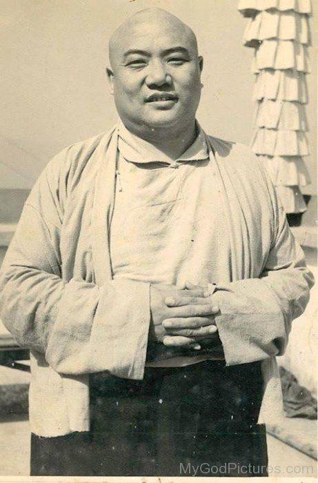 Rare Picture Of Rangjung Rigpe Dorje