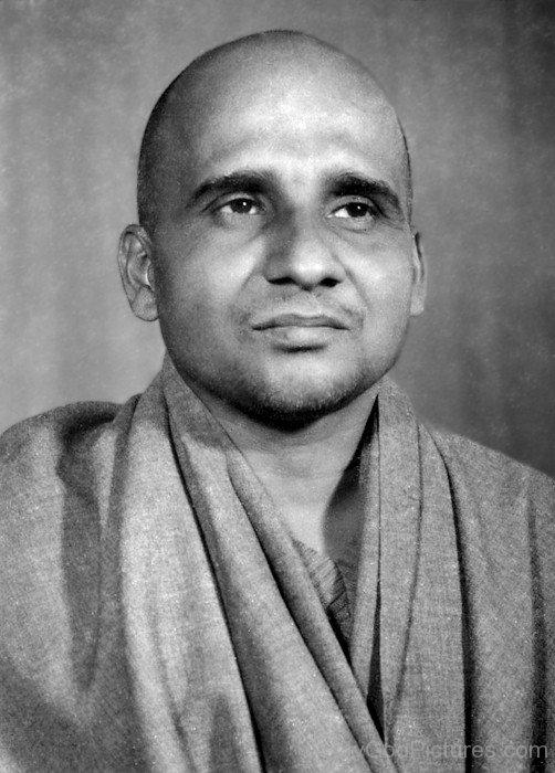 Rare Picture Of Swami Krishnananda Saraswati