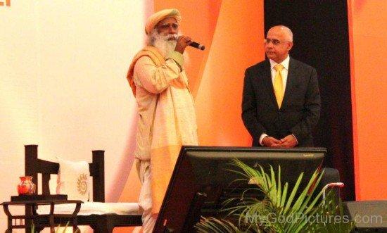 Sadhguru Jaggi Vasudev Giving Speech At Event