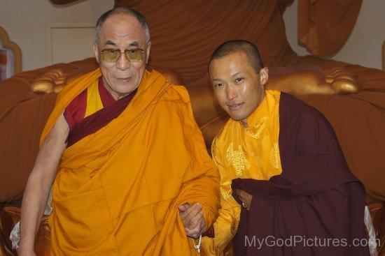 Sakyong Mipham With Dalai Lama