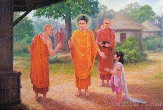 Sariputta And Prince Rahula