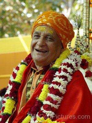 Satyananda Saraswati Smiling